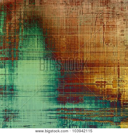 Abstract background or texture. With different color patterns: yellow (beige); brown; green; cyan