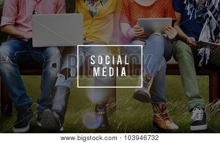 Social Media Online Connect Network Internet Concept