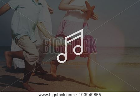 Music Audio Multimedia Musical Note Concept