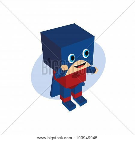 Little Hero Block Cartoon