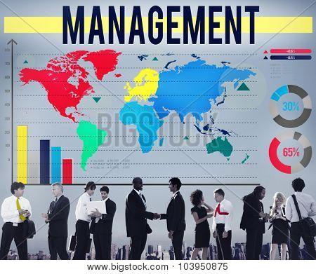 Management Manage Leadership Training Concept