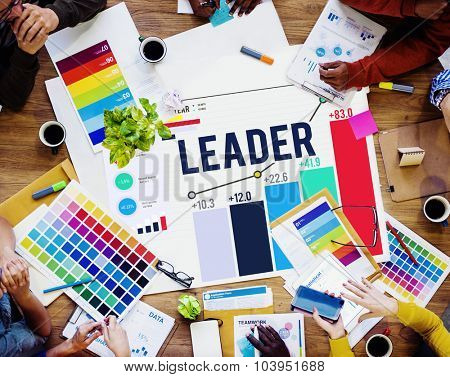 Leader Leadership Chief Team Partnership Concept