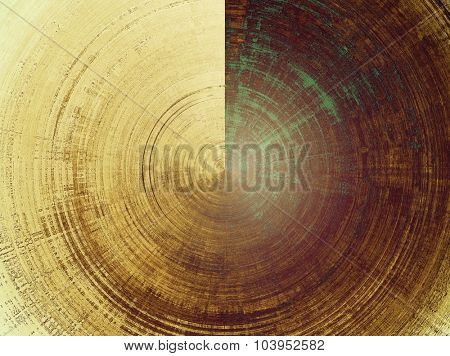 Rough grunge texture. With different color patterns: yellow (beige); brown; gray; green