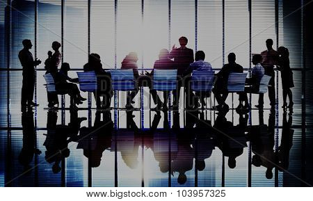 Meeting Seminar Conference Business Collaboration Team Concept