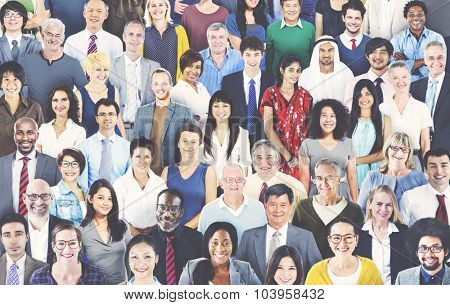 Diverse Diversity Ethnic Ethnicity Togetherness Unity Concept