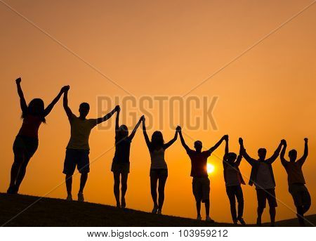 Group Multiethnic Diverse Colorful People Ethnic Concept