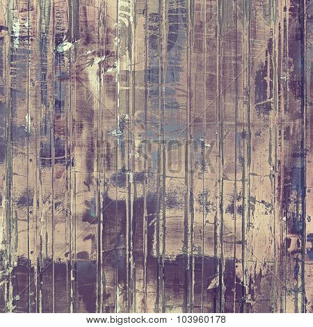 Old texture or antique background. With different color patterns: brown; gray; blue; purple (violet)