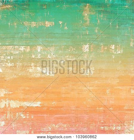 Old texture or antique background. With different color patterns: yellow (beige); brown; green; pink