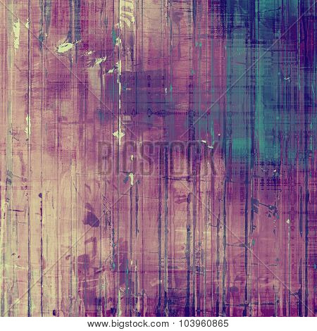 Grunge texture. With different color patterns: blue; pink; purple (violet); cyan