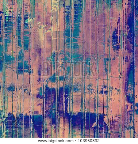 Rough grunge texture. With different color patterns: gray; blue; pink; purple (violet)