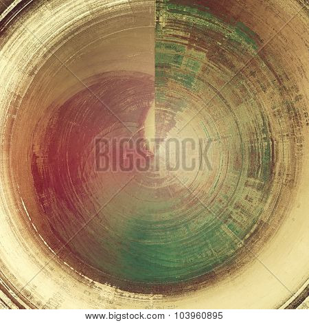 Art grunge vintage textured background. With different color patterns: yellow (beige); brown; green; pink