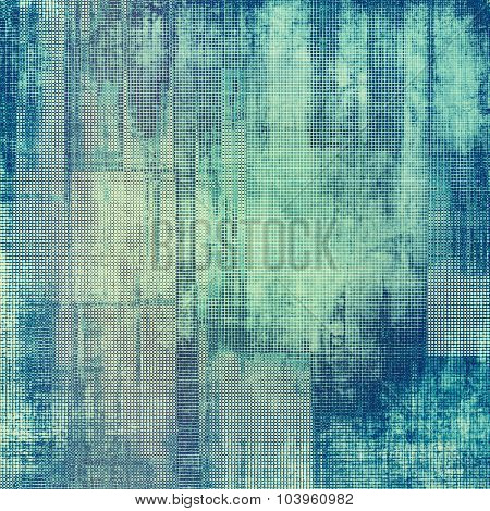 Old texture as abstract grunge background. With different color patterns: gray; blue; cyan