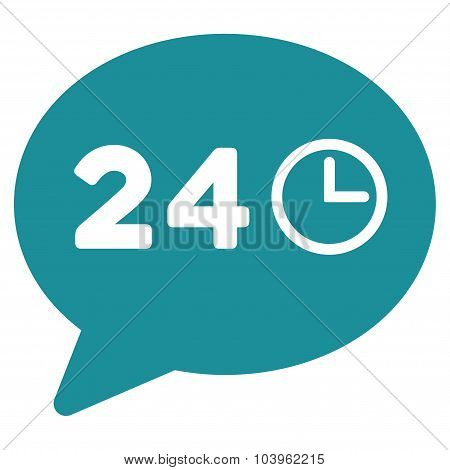 Message Hours Icon