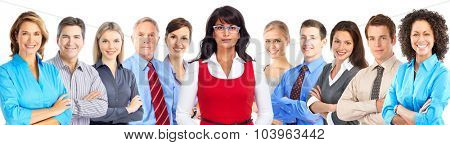 Group of business people. Accounting and finance background.