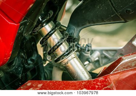 Shock Absorber Of Motorcycle