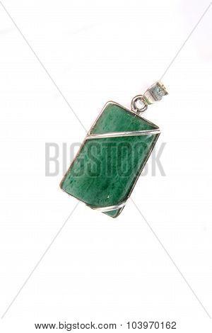Green Gemstone Pendant