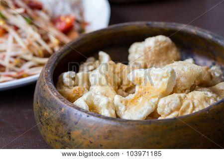 Pork Rind, Thai Food