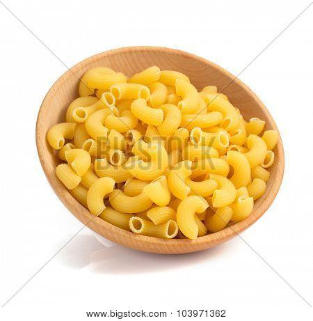 pasta macaroni isolated on white background