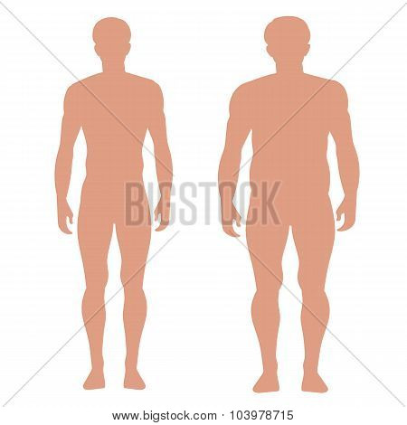 Slender And Full Male Figures.eps