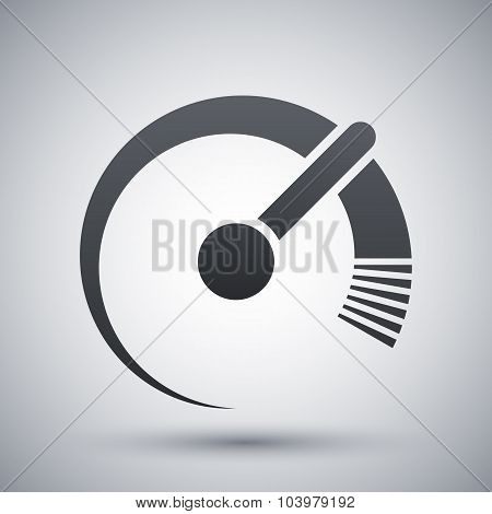 Vector Speedometer Icon