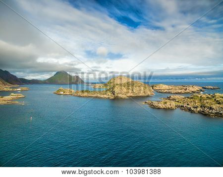 Islets On Lofoten Coast