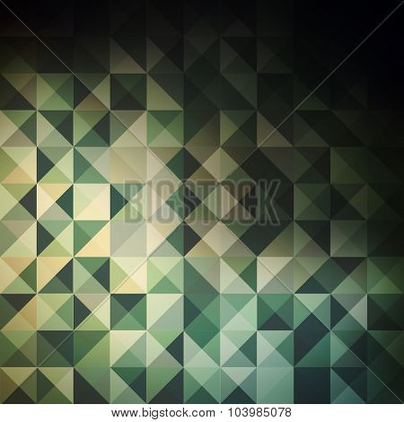 Abstract Colorful Triangles Background Design