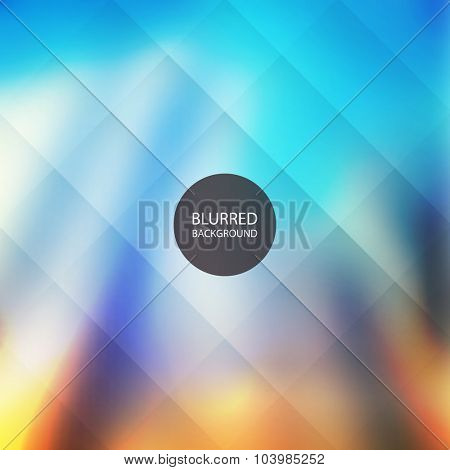 Abstract Background with Blurred Image - Skyscrapers