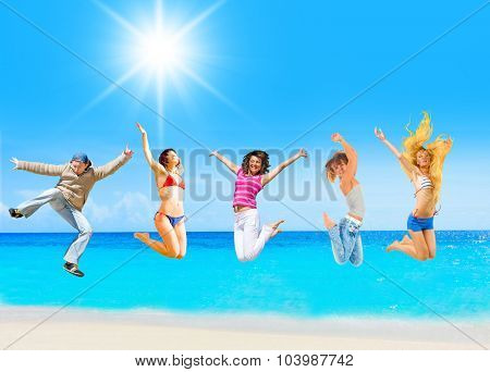 Jumping Wild Summer Exercise