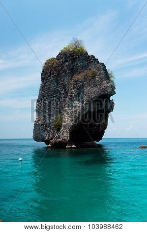 Blue Paradise Sea Scene