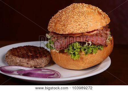 Burger And Cutlet