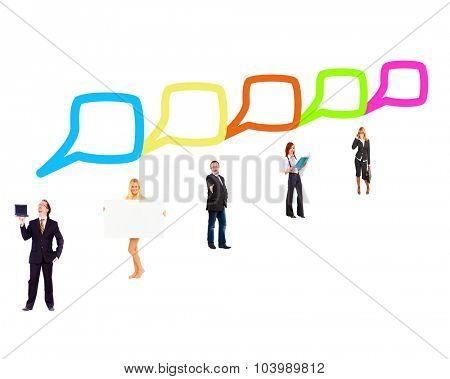 Business Picture Negotiations Idea