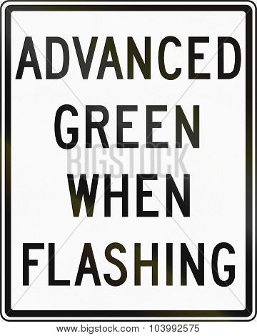Advanced Green When Flashing In Canada