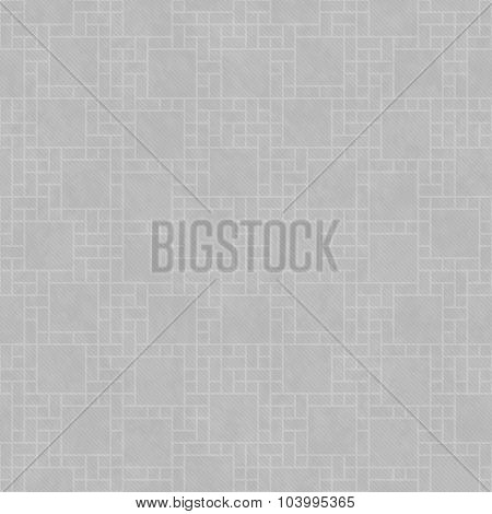 Gray Square Abstract Geometric Design Tile Pattern Repeat Background