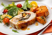 picture of roasted pork  - Feta - JPG