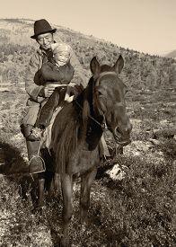 pic of mongolian  - Mongolian Tsataan Horse Equestrian Remote Rural Concept - JPG