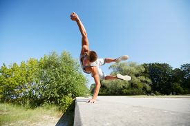 image of parkour  - fitness - JPG