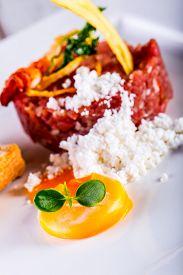 stock photo of tartar  - Raw beef  - JPG