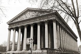 image of magdalene  - Church of Madeleine in Paris dedicated to Mary Magdalene