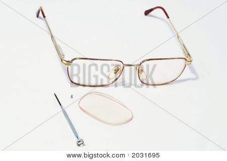Glasses With Parts