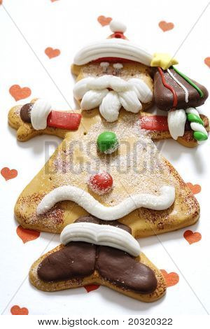 non-edible gingerbread man