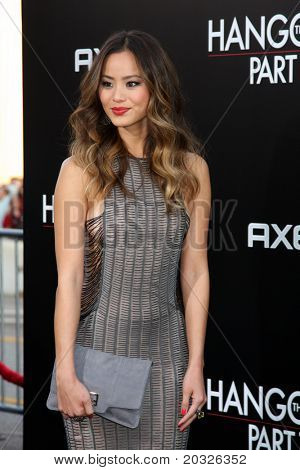 LOS ANGELES - MAY 19:  Jamie Chung arriving at the