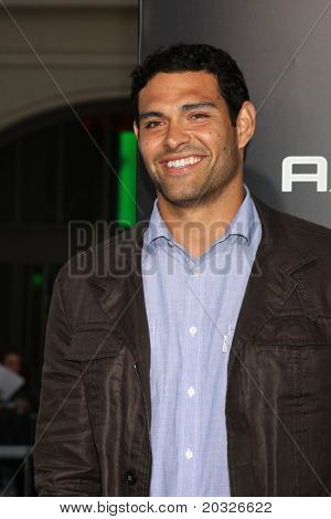 "LOS ANGELES - MAY 19:  Mark Sanchez arriving at the ""The Hangover Part II""  Premiere at Grauman's Chinese Theater on May 19, 2011 in Los Angeles, CA"