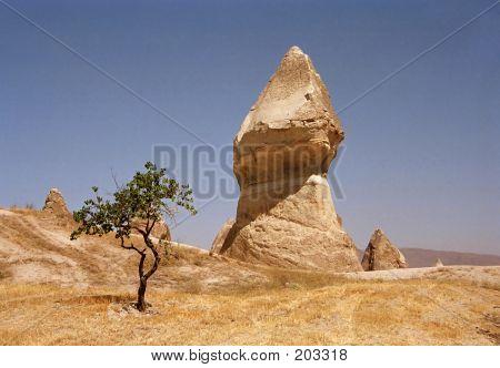 Eroded Landscape