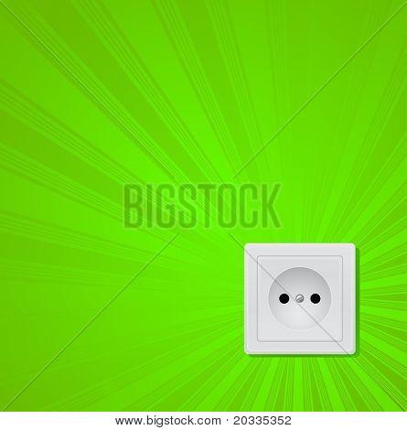 conceito de energia verde