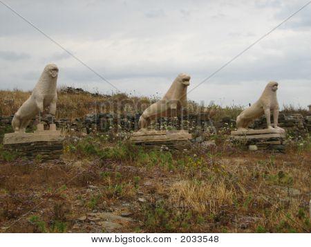 Terrace Of The Lions:Delos