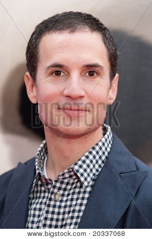 HOLLYWOOD, CA. - MAY 22: Screenwriter Jonathan Aibel arrives at the Los Angeles premiere of Kung Fu Panda 2 at Grauman's Chinese  Theatre on May 22, 2011 in Hollywood, California.