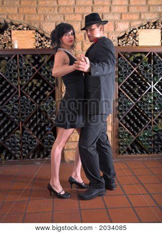 Tango In Wine Cellar