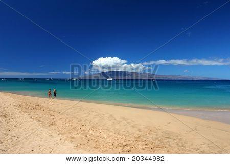 Immaculate beach in Maui
