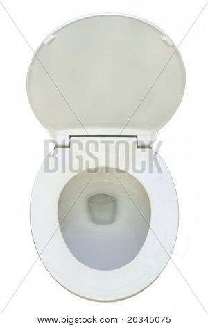 New Toilet isolated on pure white bacground