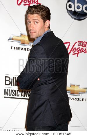 LAS VEGAS - MAY 22:  Matthew Morrison in the Press Room of the 2011 Billboard Music Awards at MGM Grand Garden Arena on May 22, 2010 in Las Vegas, NV.